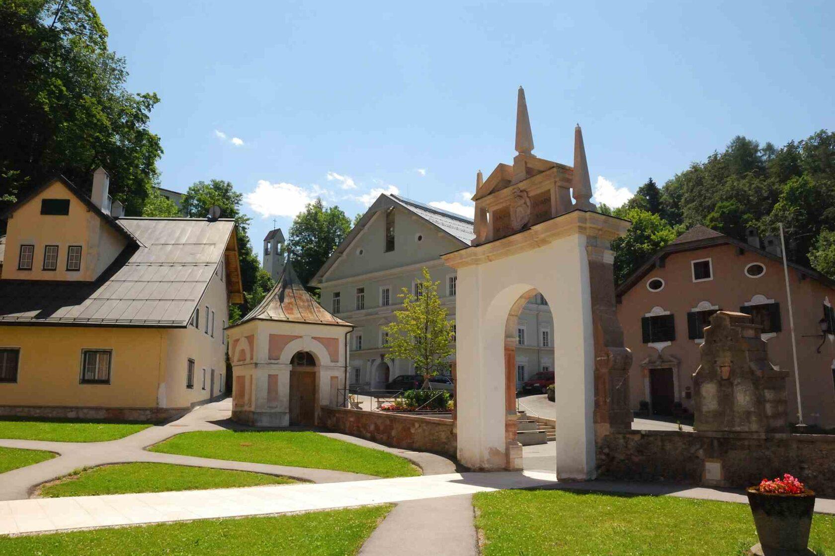 Sehenswerte Wallfahrtskirche in Hallein