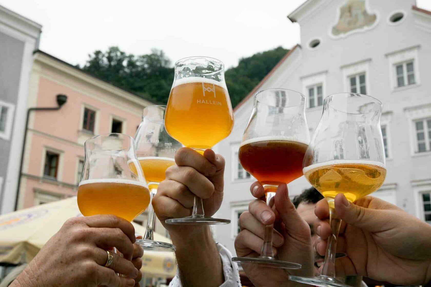 Weinverkostung in Hallein
