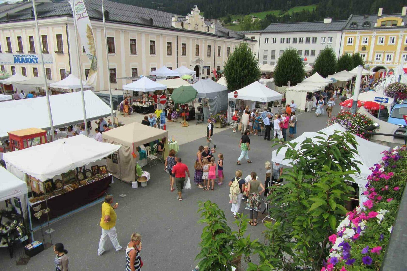 Kunsthandwerksmarkt in Radstadt