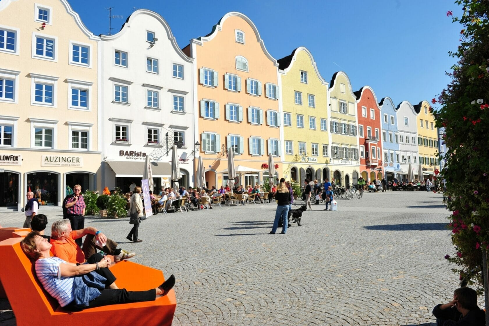 Schärding - Pulsierender Stadtplatz