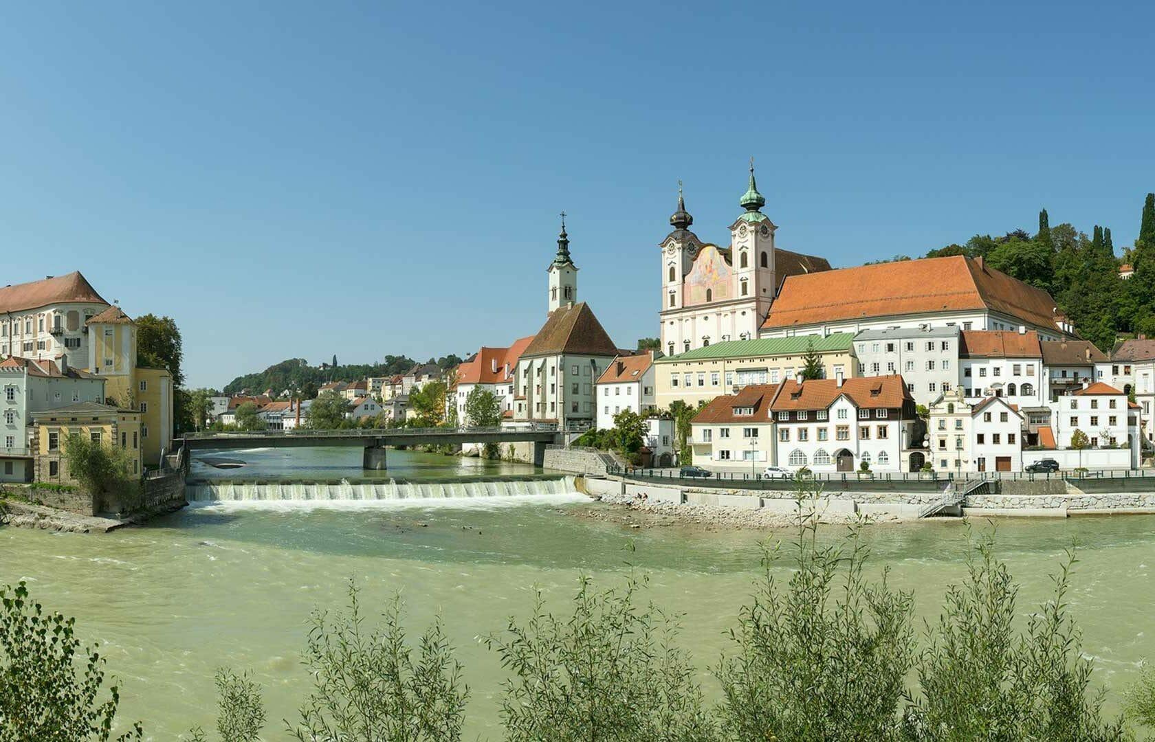Steyr - Zusammenfluss - Altstadt